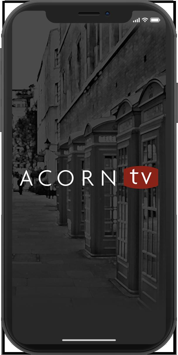 Acorn TV iPhone App Design X Home