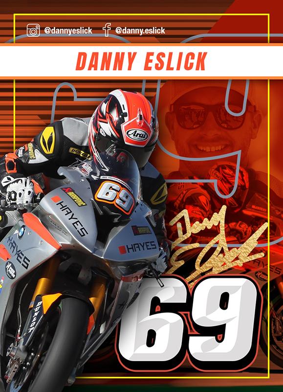 Danny Eslick Card Front