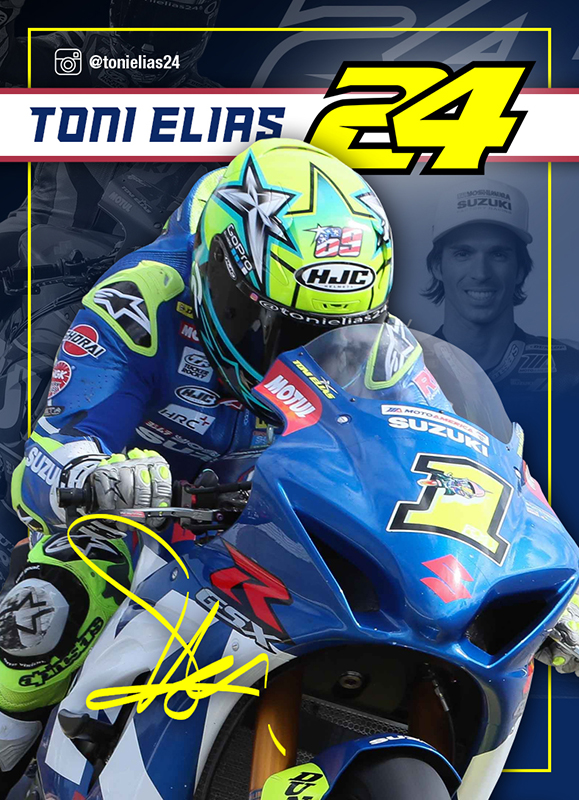 Toni Elias Card Front